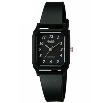 CASIO 輕便巧小運動指針錶(LQ-142-1B)-黑面x黑-22mm