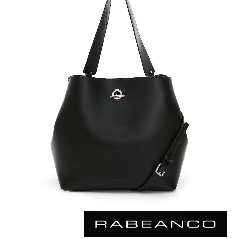 RABEANCO RUMI T-LINK 大容量子母單肩包 鋼琴黑