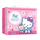 春風三層抽取式衛生紙 100抽x24包/串-Hello Kitty點心風 product thumbnail 1