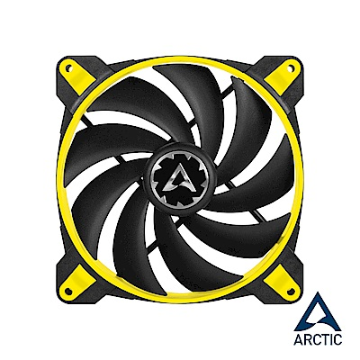 【ARCTIC】BioniX F140 14公分系統散熱風扇-黃色