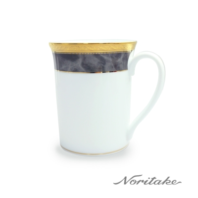 Noritake 皇家灰邊馬克杯