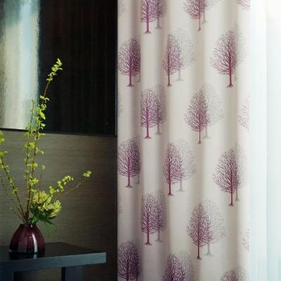 布安於室-雙影樹遮光單層穿管式窗簾-落地窗(寬200*高165cm)