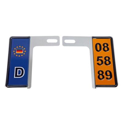 3D 6碼專利精緻裝飾車牌框 (一般國別款)-快