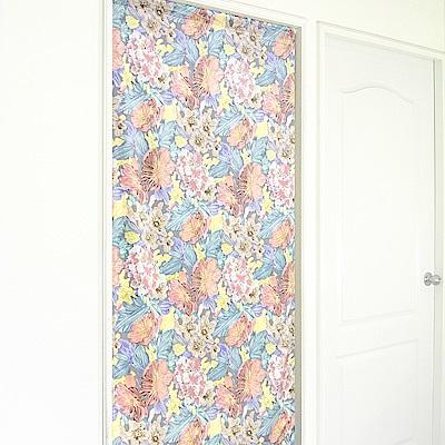 布安於室-蠟筆畫長門簾-多種尺寸