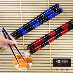 仙德曼 SADOMAIN 手染和風筷5雙-墨彩