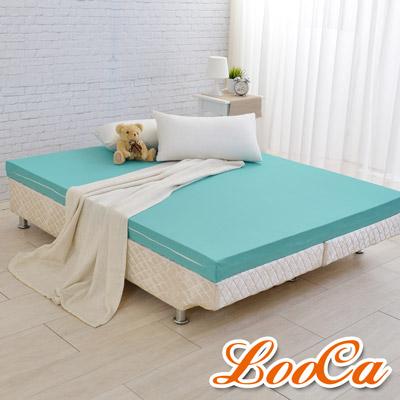 LooCa 法國防蹣防蚊輕釋壓記憶床墊10cm床墊-雙人5尺