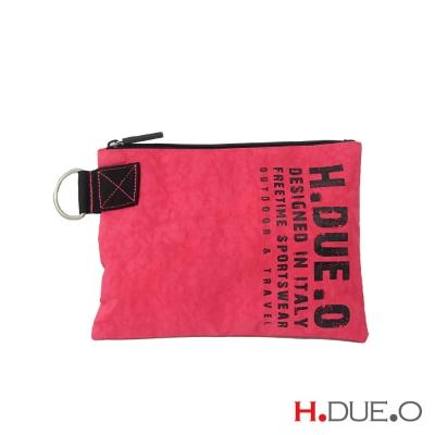 義大利H-DUE-O-極限萬用手拿包-桃紅色