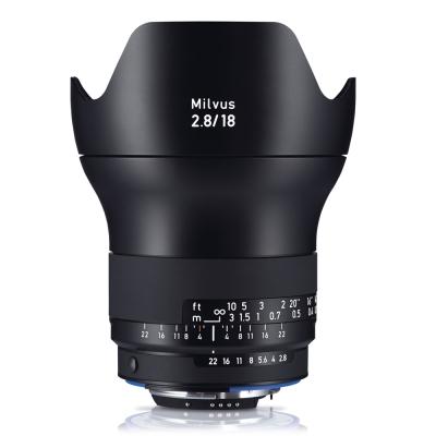 Zeiss Milvus 2.8/18 ZF.2(平行輸入)For Nikon