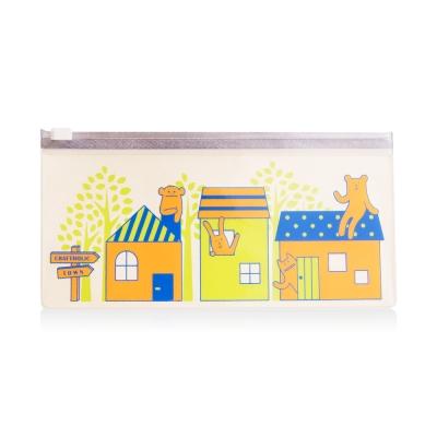 CRAFTHOLIC 宇宙人 幸福房屋收納袋(米色)