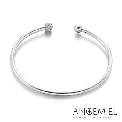 Angemiel安婕米 925純銀硬式手鍊
