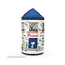 Sanrio SNOOPY房屋造型圓筒濕紙巾收納套(甜蜜的家)