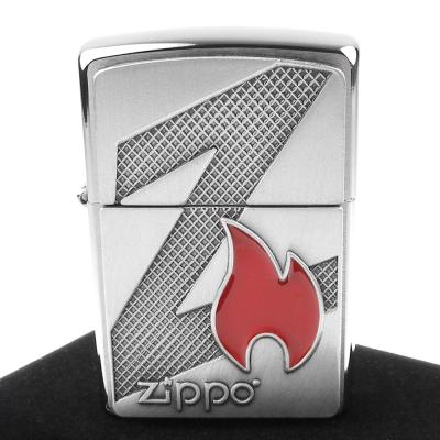 【ZIPPO】美系~Z Flame-ZIPPO火焰圖案貼飾打火機
