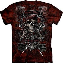 摩達客 美國進口The Mountain 骷髏王 純棉環保短袖T恤