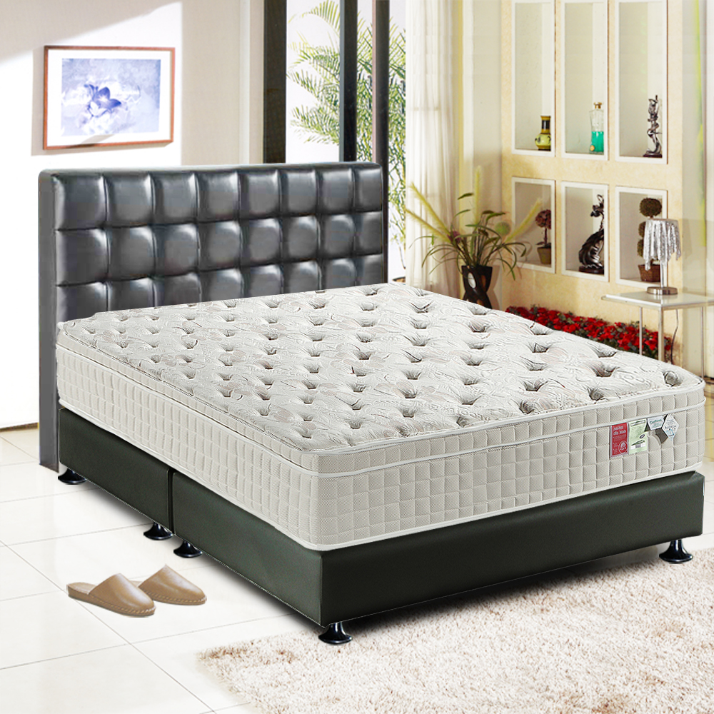 睡尚寶 三線coolfoam恆溫蜂巢獨立筒床墊-雙人加大6尺
