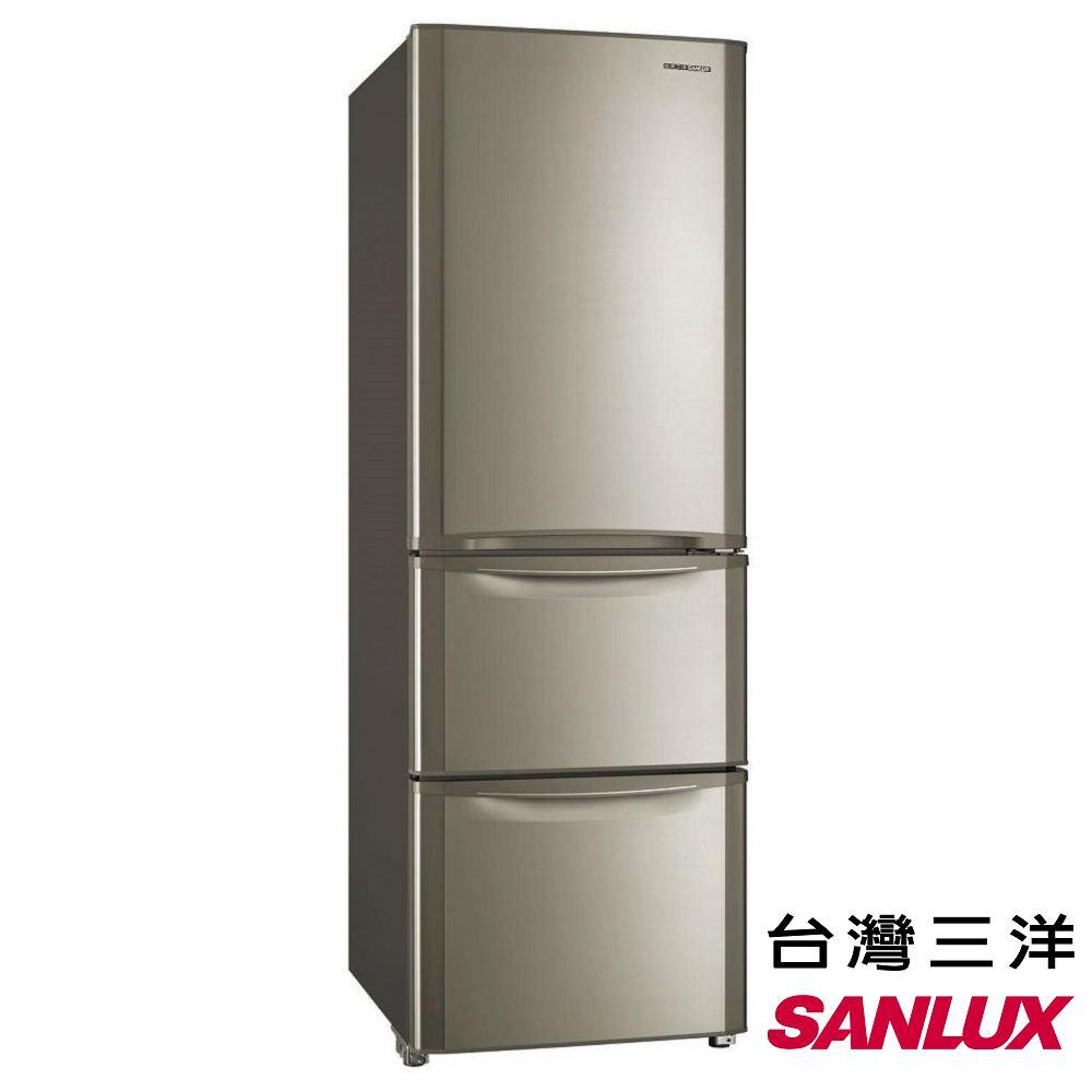 SANLUX台灣三洋 380L 變頻三門電冰箱 SR-B380CVF