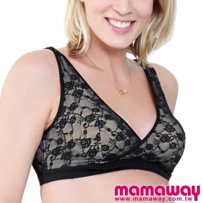 Mamaway-全蕾絲棉杯哺乳內衣-共四色