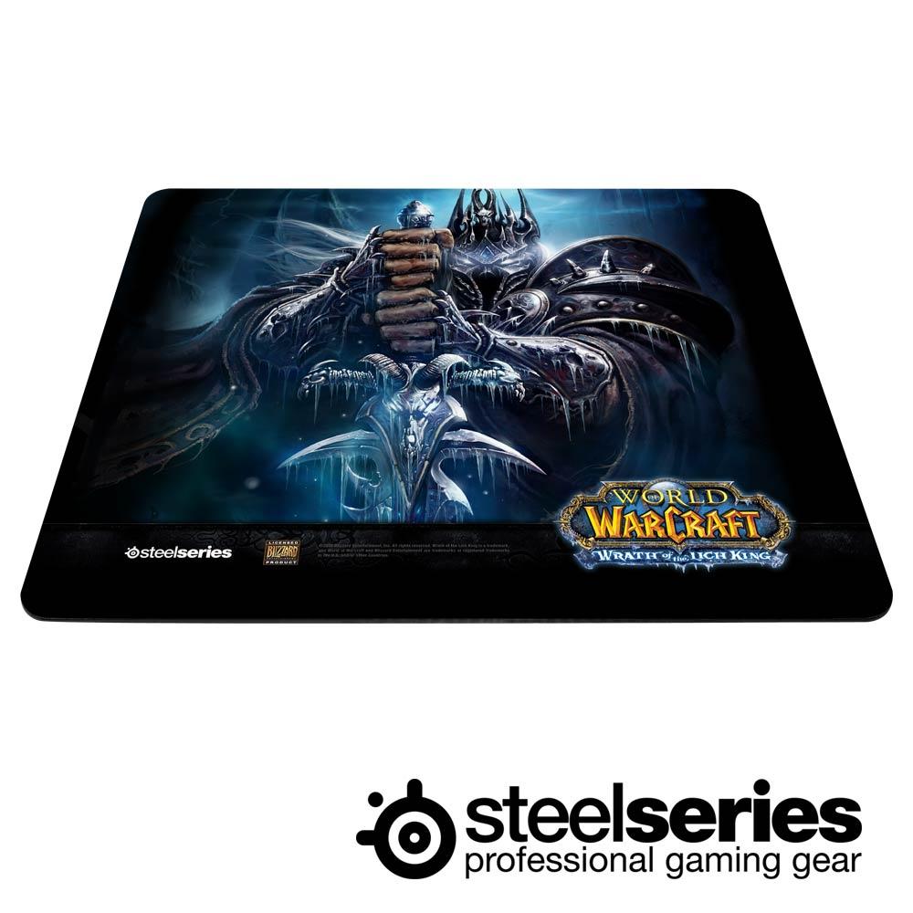 SteelSeries QcK Limited 電競滑鼠墊-魔獸限量版