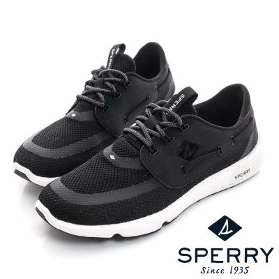 SPERRY 全新進化7SEAS全方位休閒鞋(情侶款)-黑