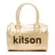 kitson Japan 金箔鉚釘LOGO波
