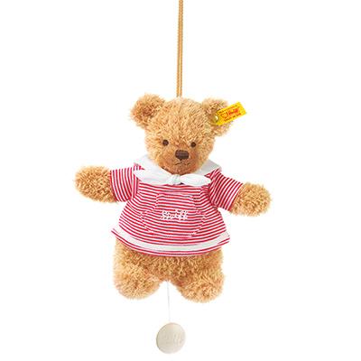 STEIFF泰迪熊 - 嬰幼兒玩偶音樂鈴 Mockyli Hippo Music Box