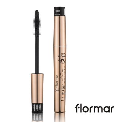 法國Flormar - 超姬纖長濃密捲翹三合一睫毛膏