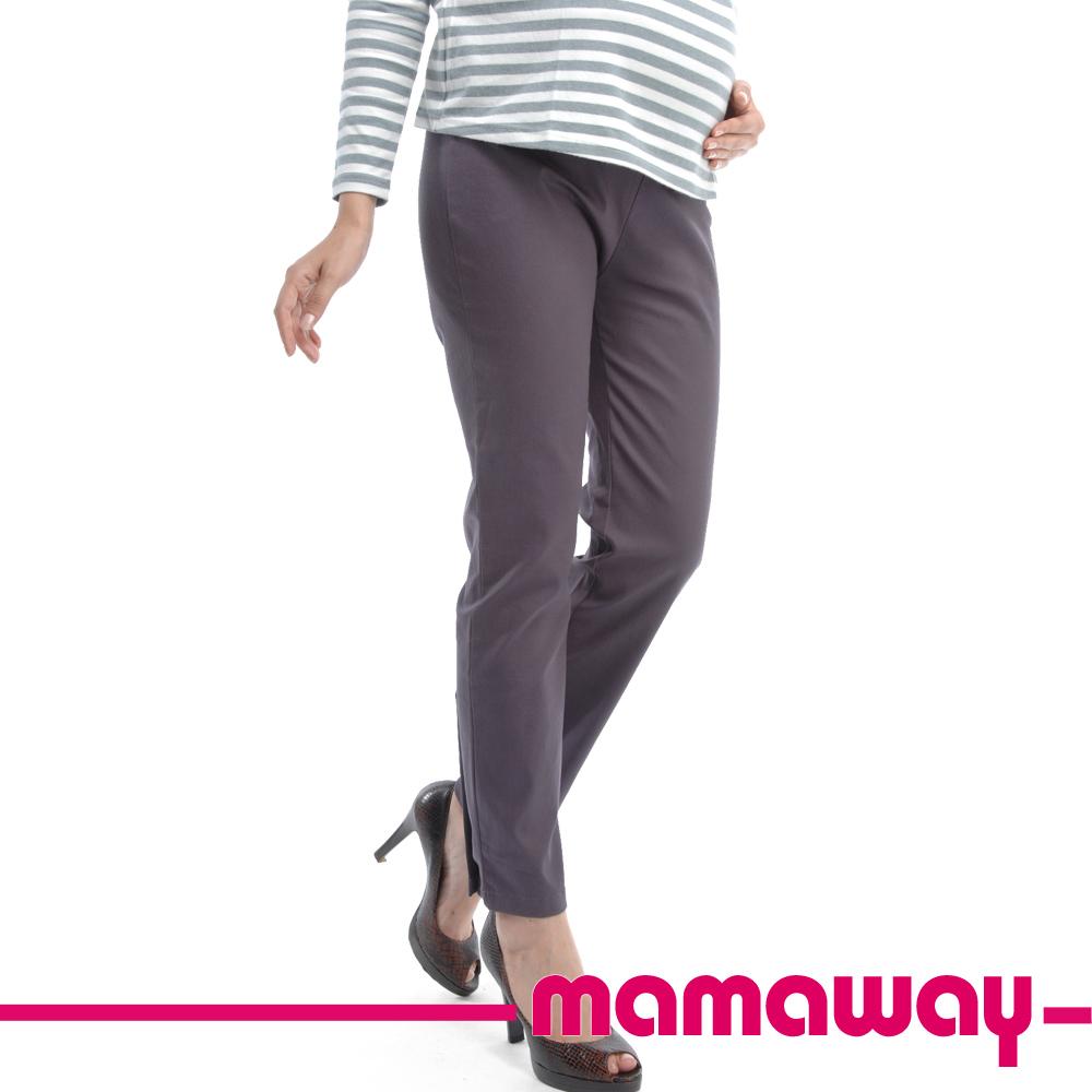 Mamaway 孕期彈性煙管褲(共三色)