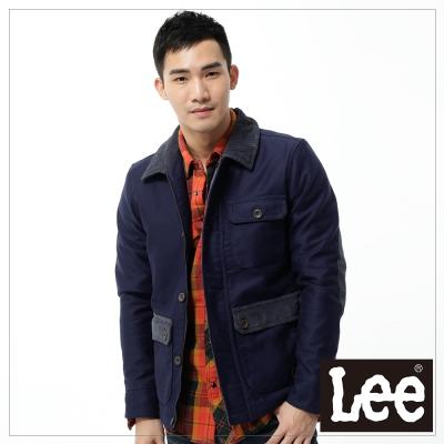 Lee 休閒灰領外套/Regional系列-男款-藍色