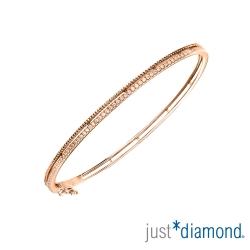 Just Diamond Rosy Dream系列18K玫瑰金鑽石手環
