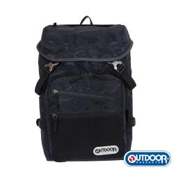 OUTDOOR- 迷彩圖騰系列-後背包M-藍迷彩-OD271116NY