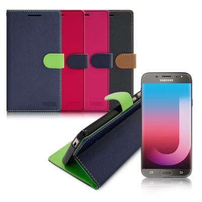 台灣製造 FOCUS Samsung Galaxy J7 Pro 糖果繽紛支架側...