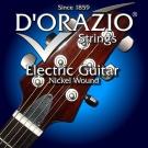 D'ORAZIO 義大利手工製 鍍鎳 電吉他弦(No.33)