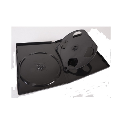 EXCH 四片DVD精裝優質軟盒/黑色  1箱100PCS