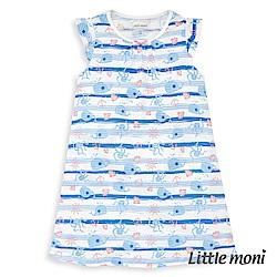 Little moni 家居系列長洋裝睡衣 (3色可選)