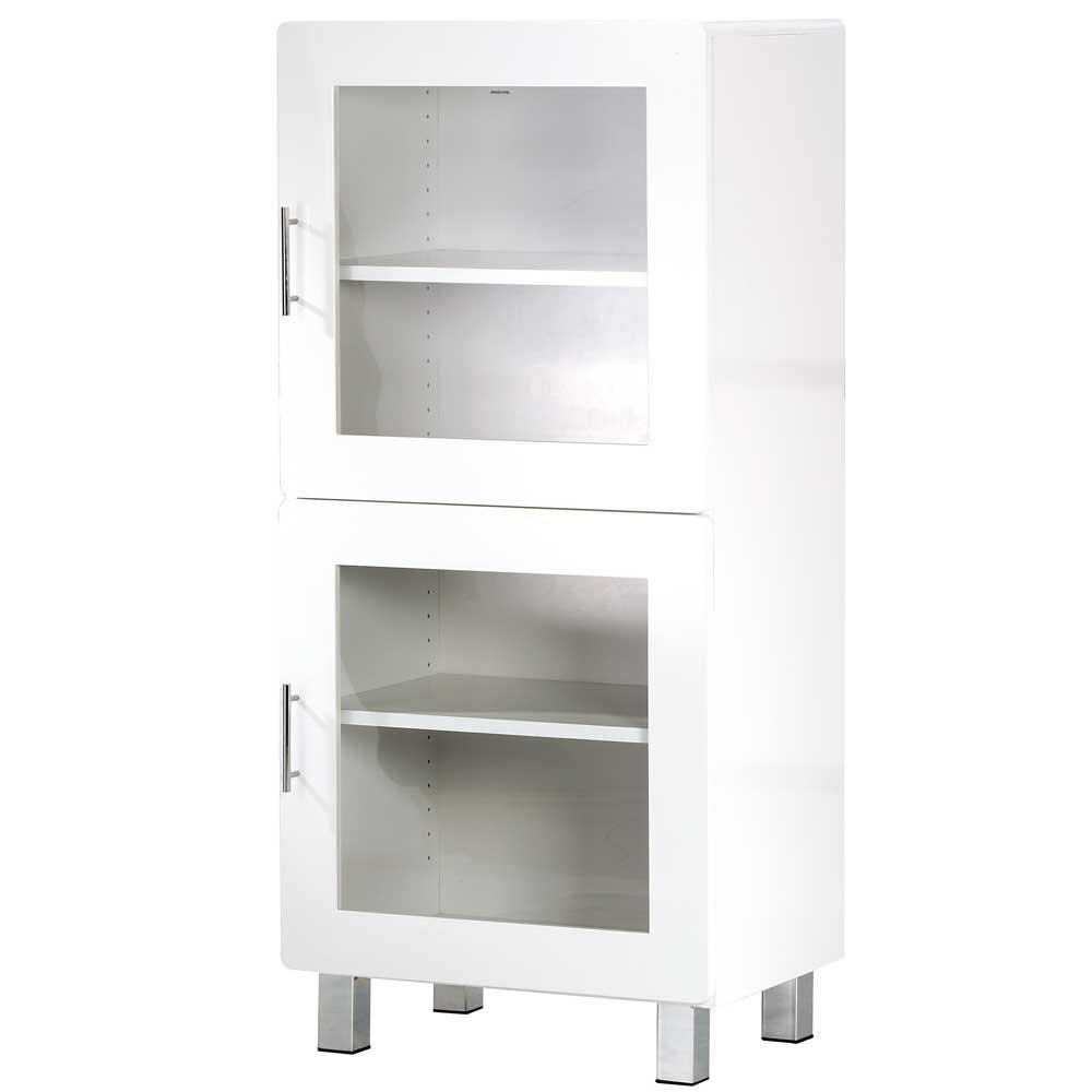 大都會雙門鏡面收納櫃/展示櫃