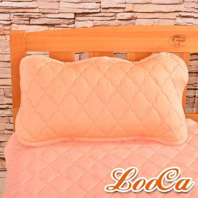 LooCa 新一代酷冰涼枕用保潔墊1入(橘)