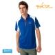 【hilltop山頂鳥】男款ZIsofit吸濕排汗彈性POLO衫S14ME4深寶藍 product thumbnail 1