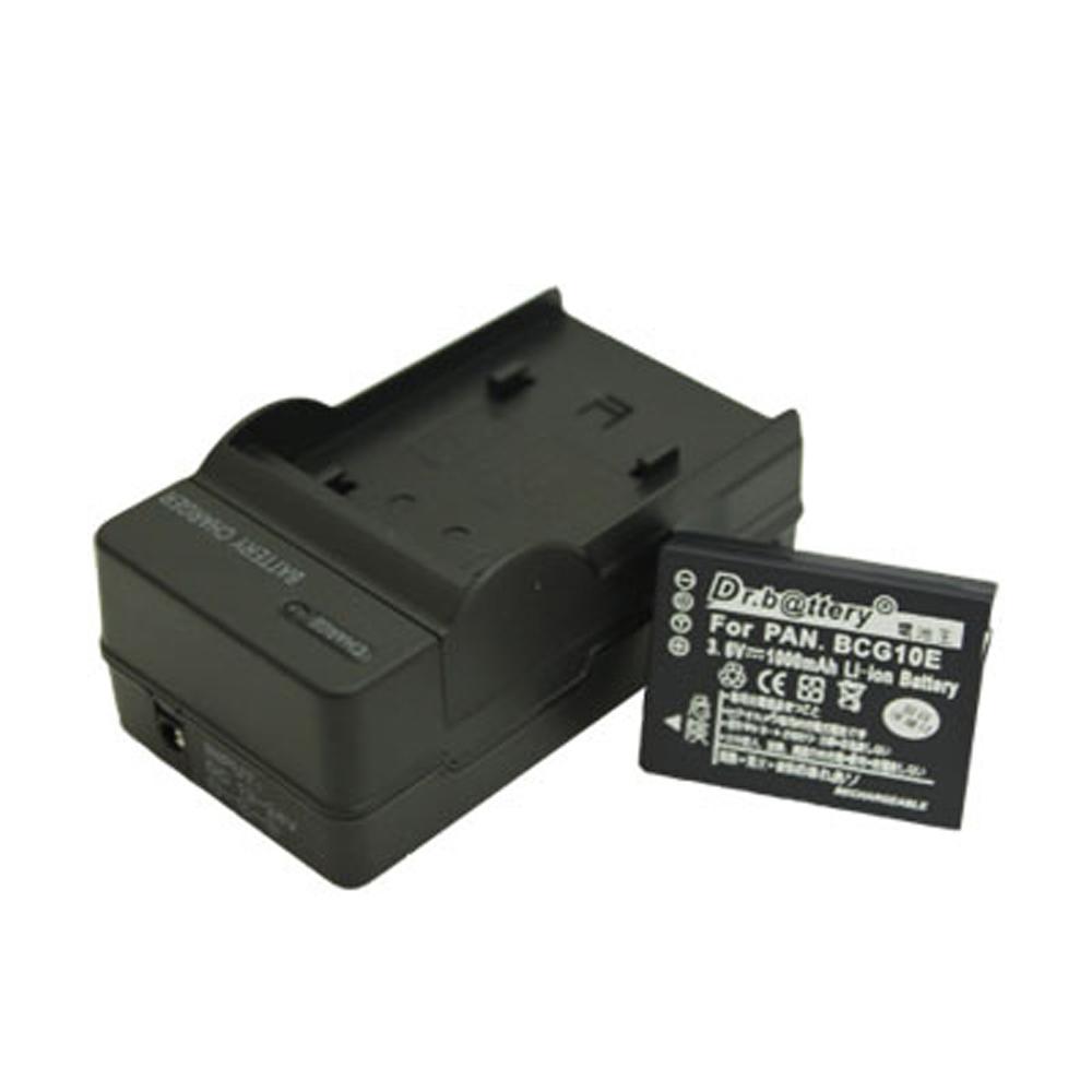 電池王 For Panasonic DMW-BCG10 高容量鋰電池+充電器組