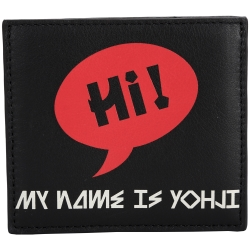 Y-3 STRIPE 萬用卡片皮夾(黑色)