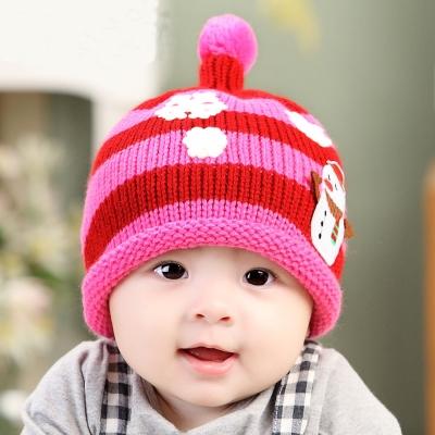 韓版魔法雪人針織毛線帽
