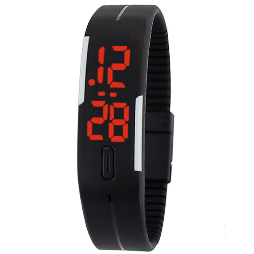 Watch-123 致青春之型色隨我-繽紛觸控LED智能手環腕錶/20mm