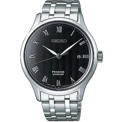 SEIKO精工Presage沉穩風格羅馬機械腕錶(4R35-02S0D)-41mm