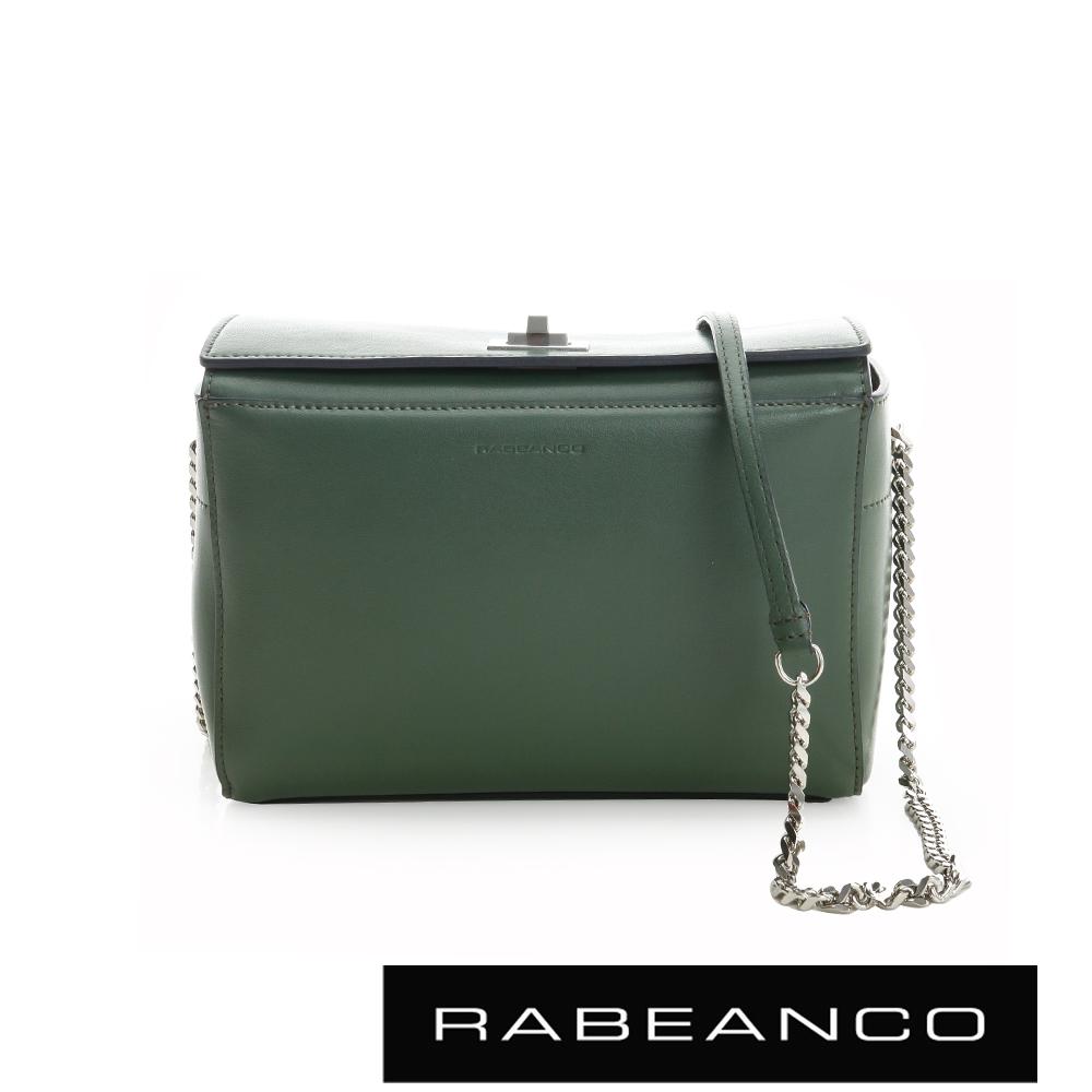 RABEANCO 迷時尚系列鍊帶肩背包 -綠