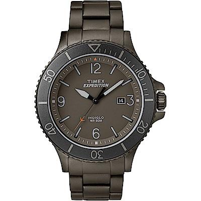 TIMEX 天美時 復刻系列 經典城市性格手錶 灰色/43mm