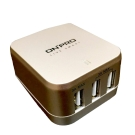 ONPRO USB 4.8A 3孔萬國急速充電器 (UC-3P01W)-金色
