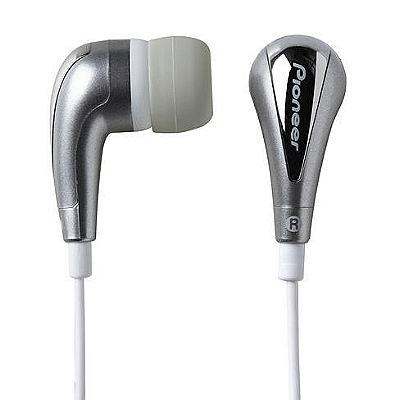 Pioneer 炫目閃亮銀內耳式耳機(SE-CL20U-X-S)