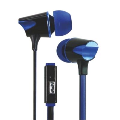 KINYO智慧型手機耳麥IPEM629 -搖滾藍