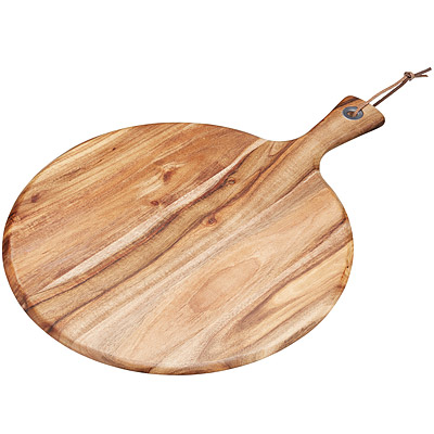 KitchenCraft 刺槐木輕食盤(圓)