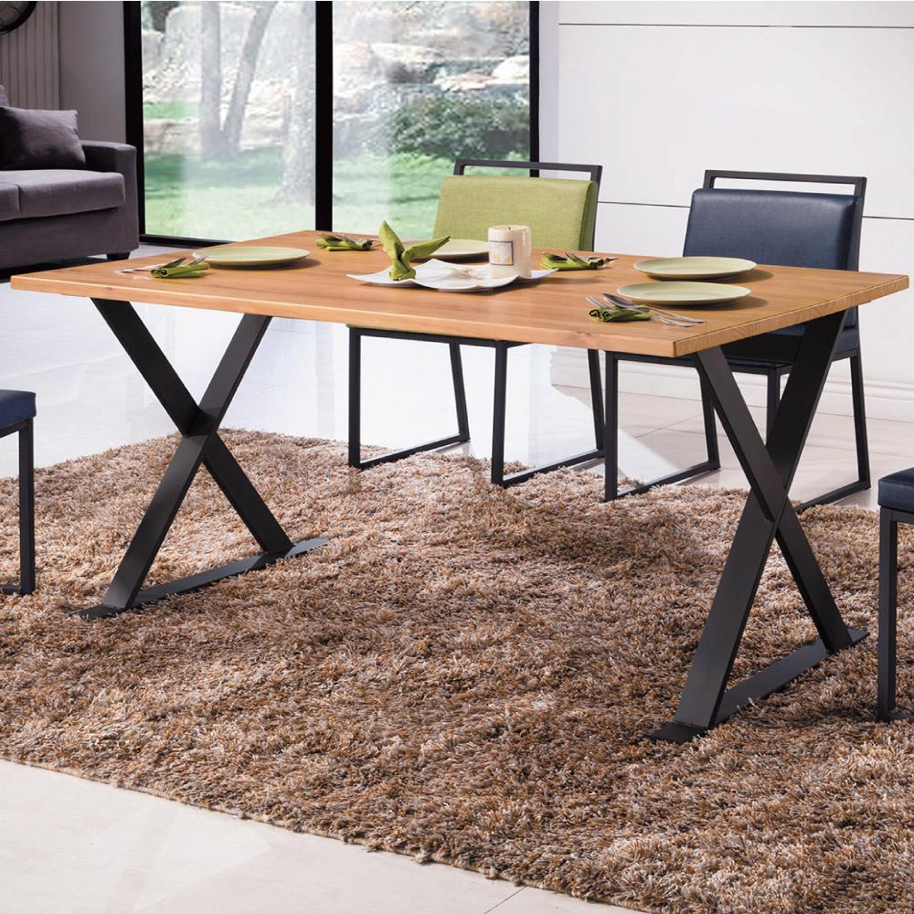 工業風 派亞特思4.3尺餐桌-130x80x76cm