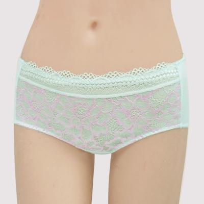 曼黛瑪璉-包覆提托春夏經典   低腰平口萊克內褲(晨霧綠)