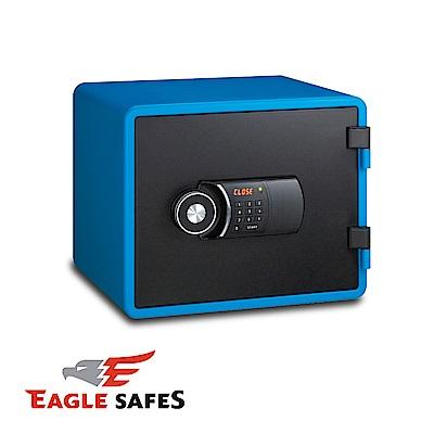 凱騰 Eagle Safes 韓國防火金庫 保險箱 (YESM-020-BL)(知性藍)